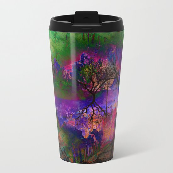Everything is nothing 3 (therefore it was beautiful) Metal Travel Mug