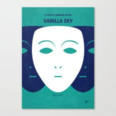No571 My Vanilla Sky minimal movie poster Canvas Print