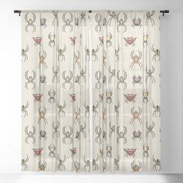 Orb Weavers Sheer Curtain