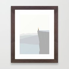 GOD UDSIGT Framed Art Print