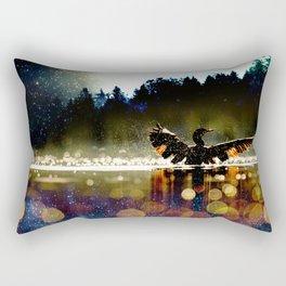 Magic on the Lake Rectangular Pillow