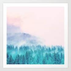 Popsicle Forest Art Print