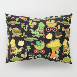 Dino's Kindergarten Pillow Sham