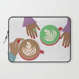 Latte Conversations Laptop Sleeve