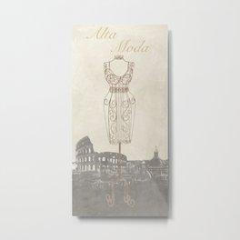 Remy Dellal - Alta Moda Metal Print