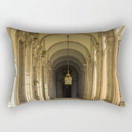 Enfilade of Royal palace, Madrid Rectangular Pillow