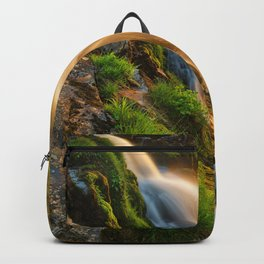 Glowing Loup of Fintry Waterfall Backpack