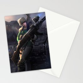 Arctic Warfare Caitlyn League of Legends Stationery Cards