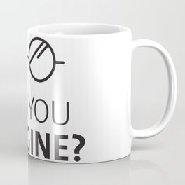 Can You Imagine John Classic Glasses Design Coffee Mug