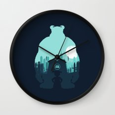 Welcome To Monsters, Inc. Wall Clock