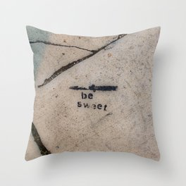 Cemented Series 7 Throw Pillow