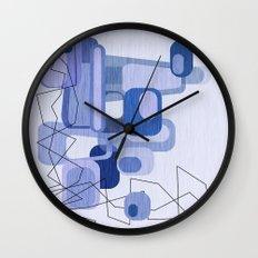 Feeling Blue. Wall Clock