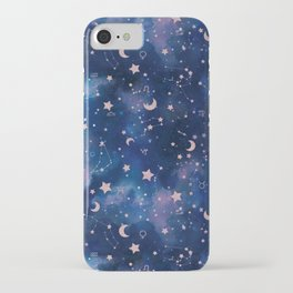 Zodiac - Watercolor iPhone Case