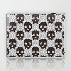 Knitted skull pattern Laptop & iPad Skin