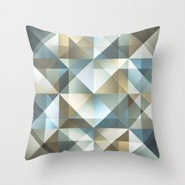 Gradient Diamonds Throw Pillow