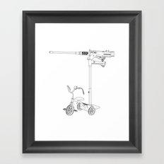30MM Trike Framed Art Print