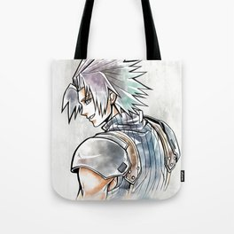 Zack Fair Artwork ( Final Fantasy VII - Crisis Core) Tote Bag
