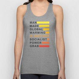 Socialist Power Grab Unisex Tank Top