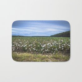 Cotton Fields  Bath Mat