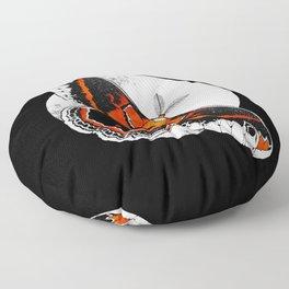 Robin Moth | MOON VERSION |   BUGSPOTTING SERIES Floor Pillow