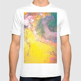 Random Bliss, Abstract Graphic Digital Art, Resin Art Painting Colorful Eclectic Bohemian T-shirt