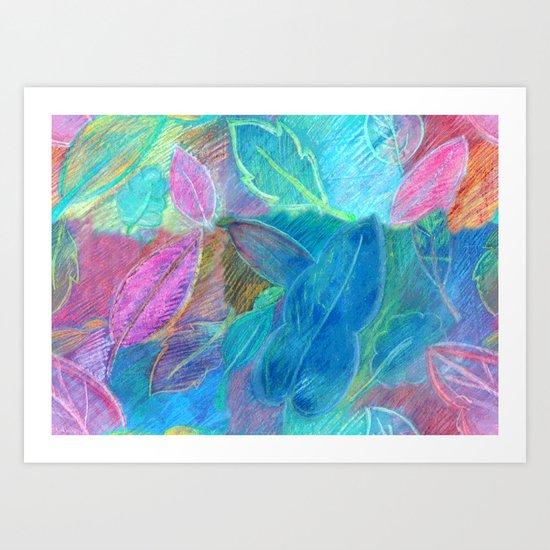 Rabisco Art Print