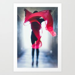 wind-swept Art Print