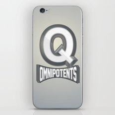 Q Omnipotents iPhone & iPod Skin