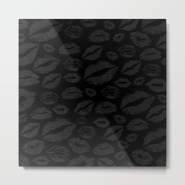 Dark Lips Metal Print