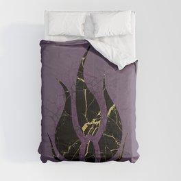 Cracks of Gold Comforters