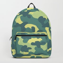 Old Skull Light Military (Militar Claro) Backpack