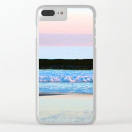 Layers Of Color Clear iPhone Case