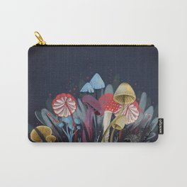 Wild Mushrooms Carry-All Pouch
