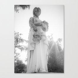 Savannah Ghost Canvas Print
