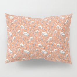 Skulls and Daggers Pillow Sham