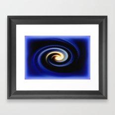 Eye of the Cyclone Framed Art Print