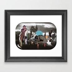 The Audit Framed Art Print