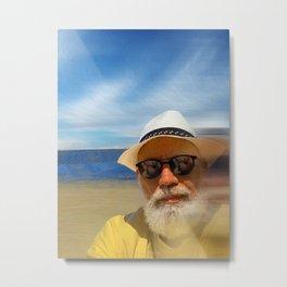 Beachcomber (Self Portrait) Metal Print