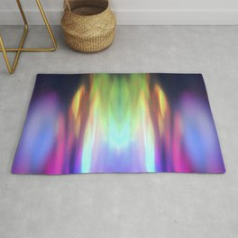 Abstract Moments Rug