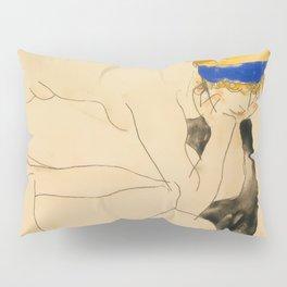 """Egon Schiele """"Zwei Liegende Figuren"""" Pillow Sham"""