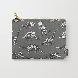 Dinosaur Skeleton Pattern Carry-All Pouch