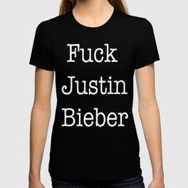 F Justin Biebs T-shirt