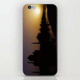 Taj Sunset iPhone Skin