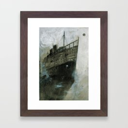The Upper Berth Framed Art Print