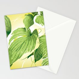 Ficus Plant 4 Stationery Cards