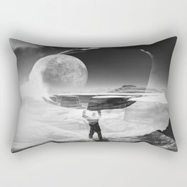 My World Rectangular Pillow