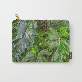 Luscious Green Rainforest Vine Carry-All Pouch