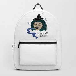 Banish Bad Mentality Witch Backpack