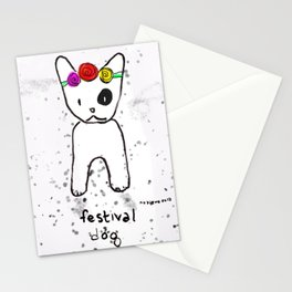 Festival Dog Stationery Cards