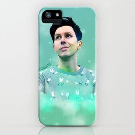 Hidden Fox Phil Lester | Digital Painting iPhone Case